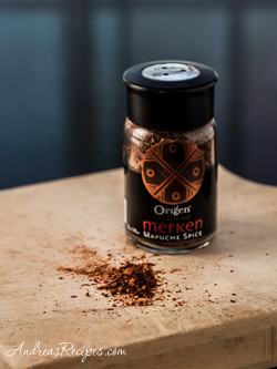 Merkén, a smoked pepper spice mix from Chile - Andrea Meyers