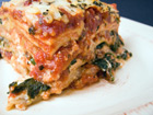 Andrea Meyers - Spinach and Basil Lasagna