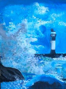 Andreas Rörqvist Konst Art Västkusten Akrylmålning