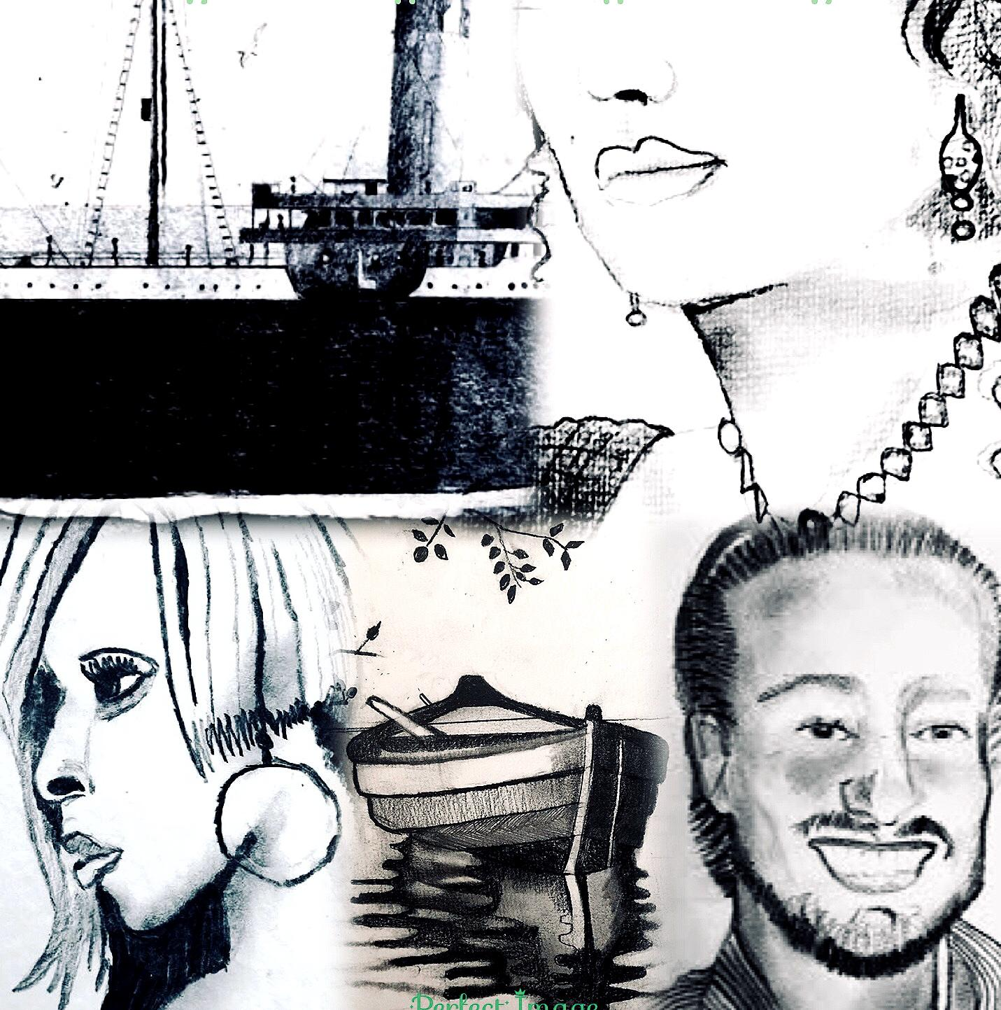 Art Homepage Konst Andreas Douglas Rörqvist Titanic Liverpool Kate Winslet Mary J Blige Singers Actor