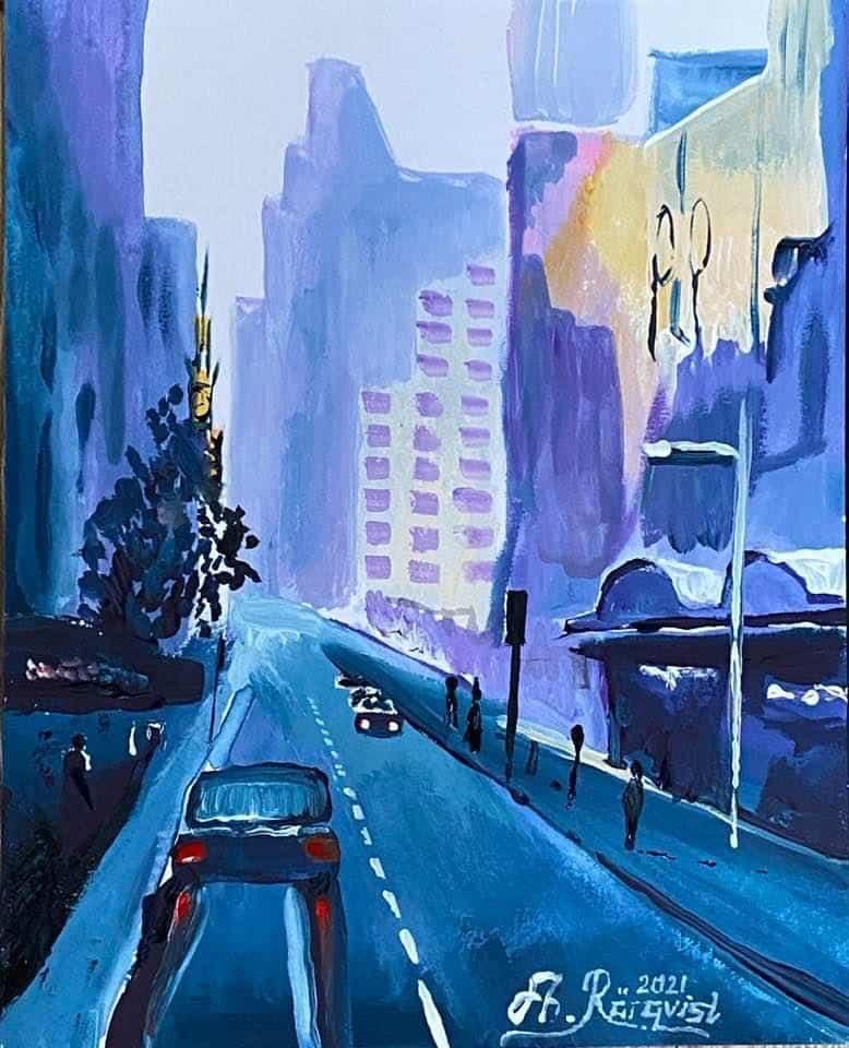 Sidney, Australia Art Konst Andreas Rörqvist