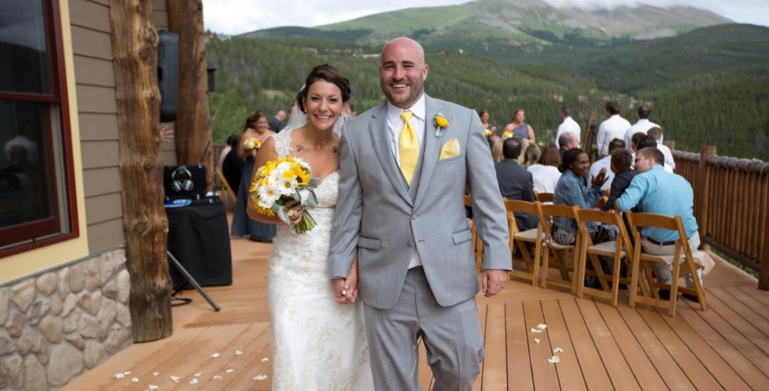Ashley and Brandon The Lodge at Breckenridge Wedding