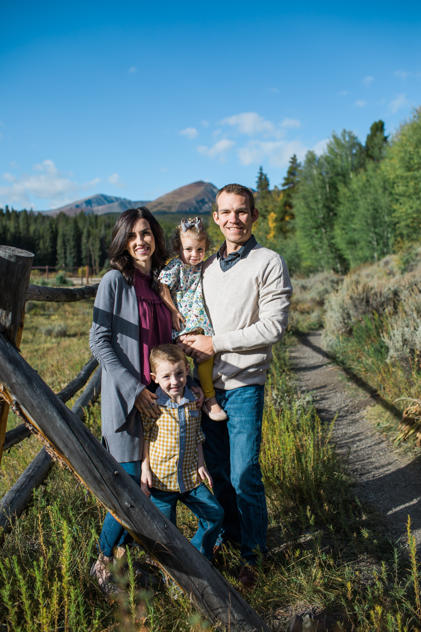 Fall Family Photography Breckenridge Colorado