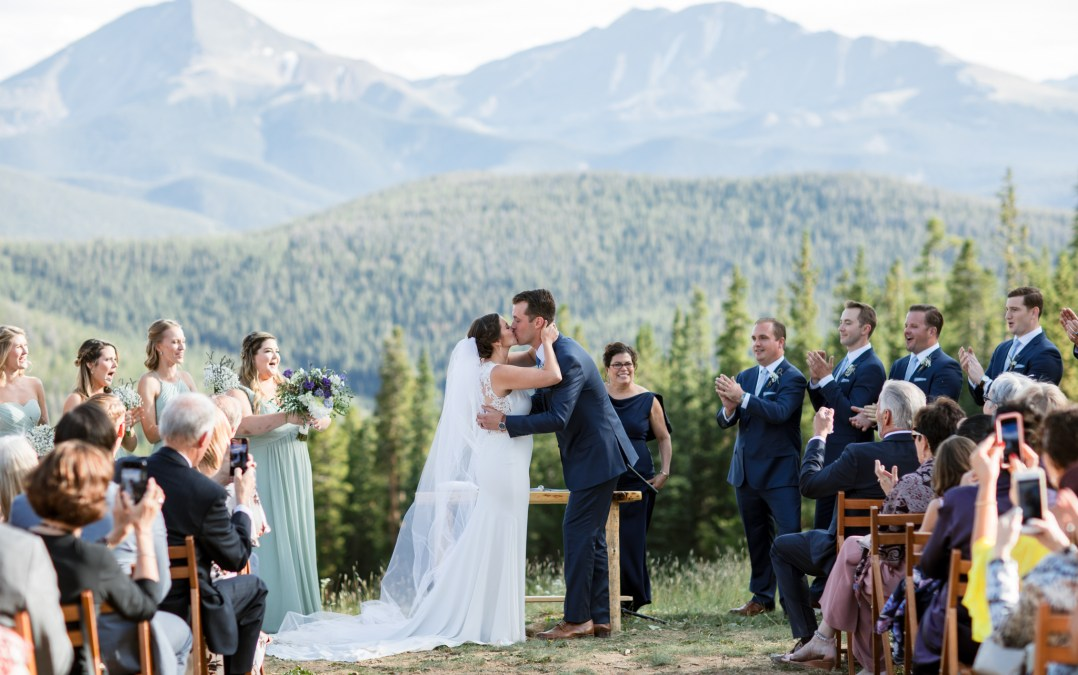 timber ridge lodge keystone colorado wedding