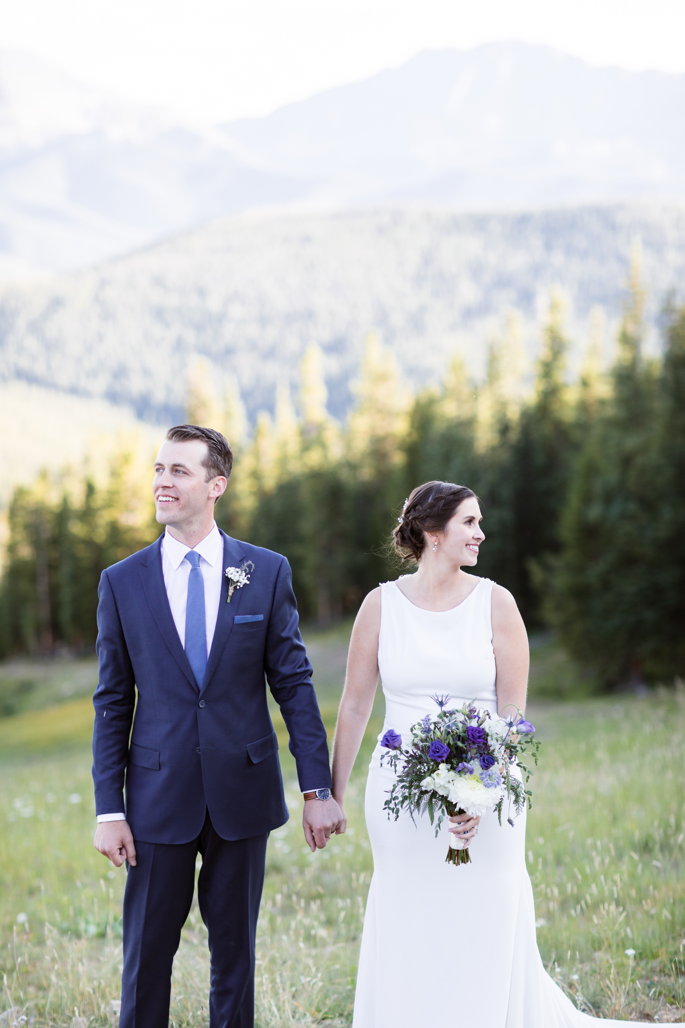 Timber Ridge Lodge Keystone Colorado Summer Wedding