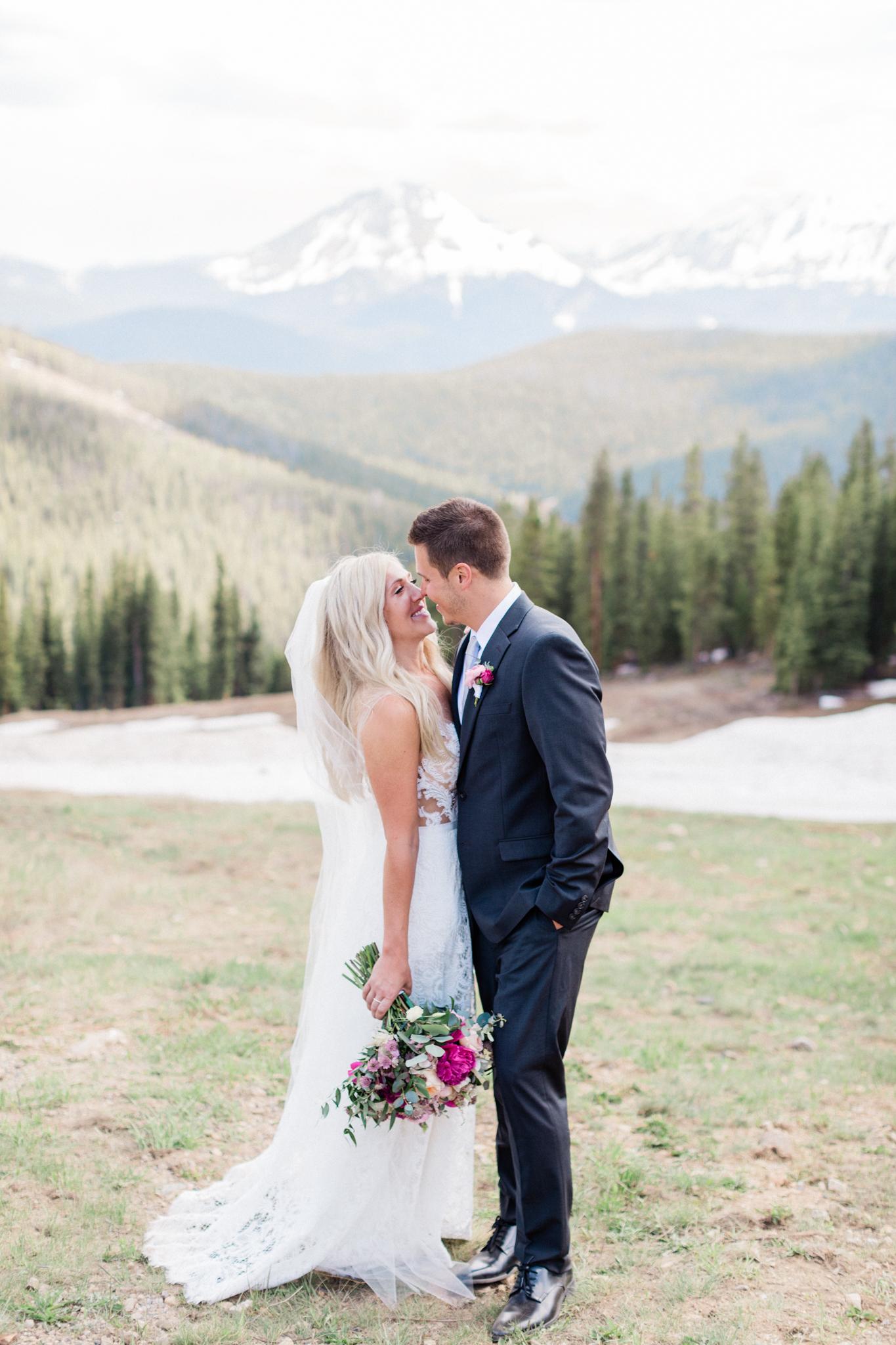 Marika and Kyle Timber Ridge Lodge, Keystone