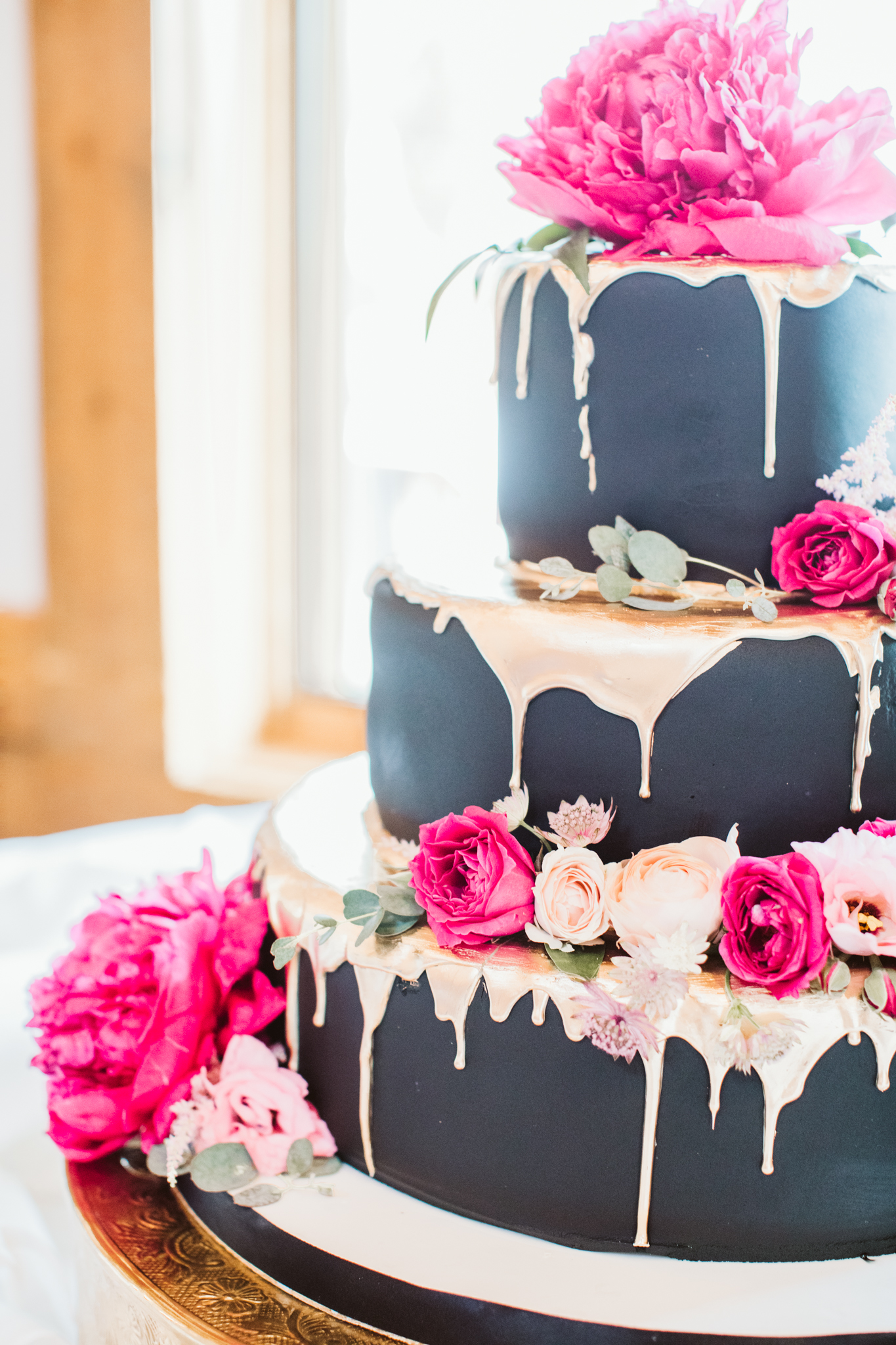 Timber Ridge Lodge Wedding Cake Keystone Colorado