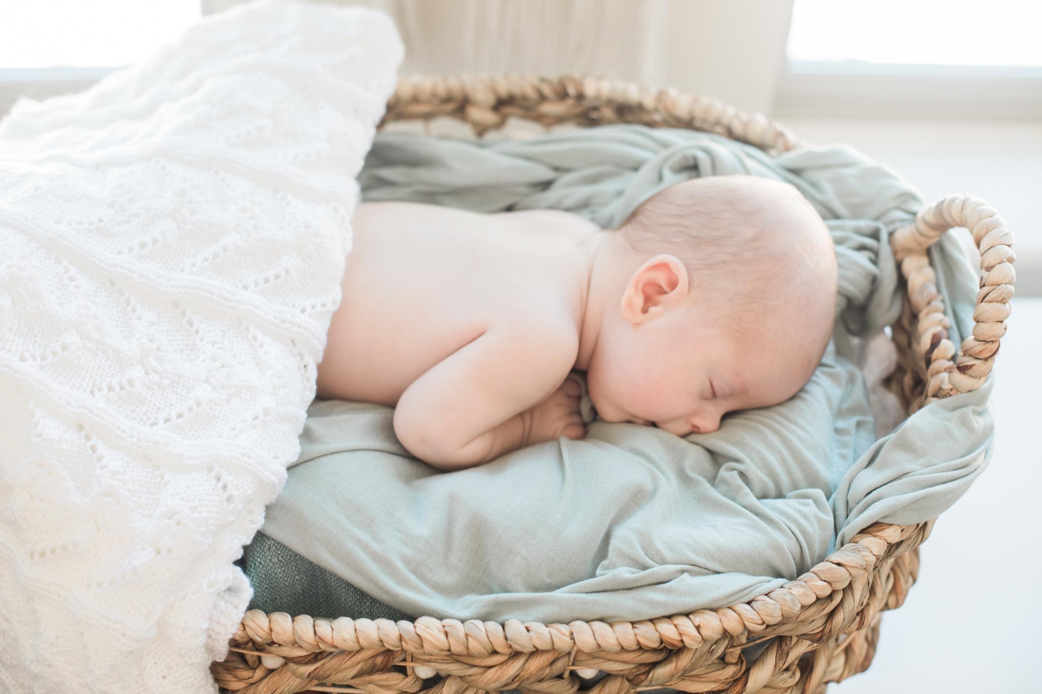 Asher Lifestyle Newborn Session Frisco Colorado