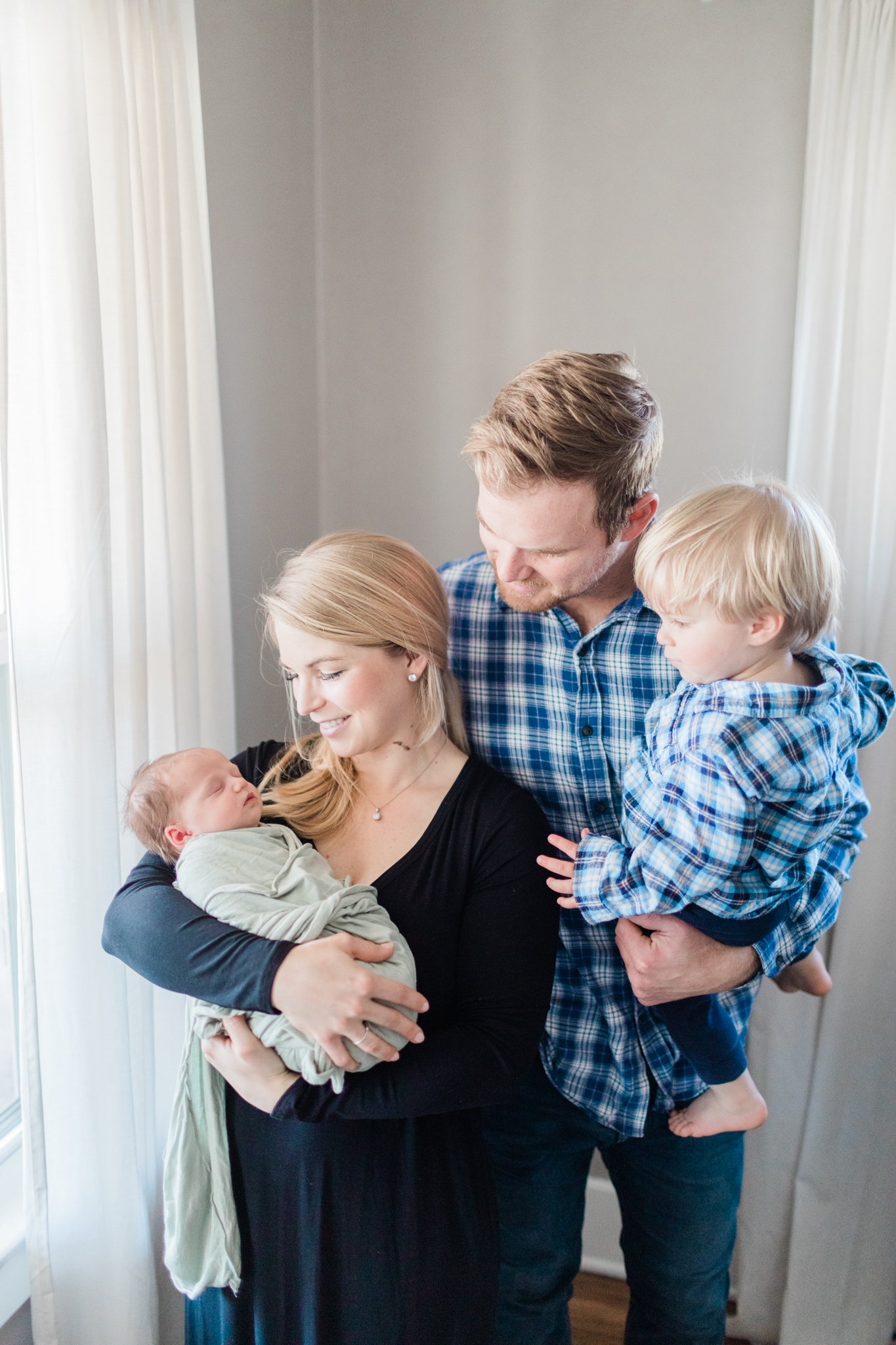 Denver Lifestyle in home Newborn Photographer