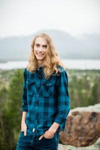 Sam Wescott Senior Photography Breckenridge Colorado