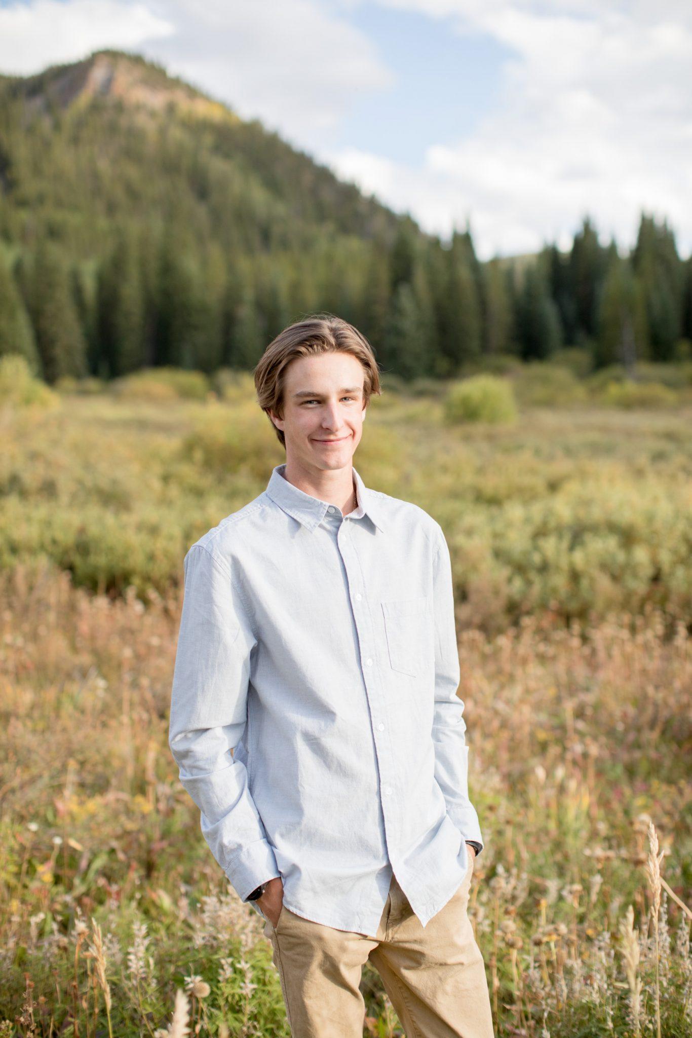 Mike Thebeau Senior Portraits