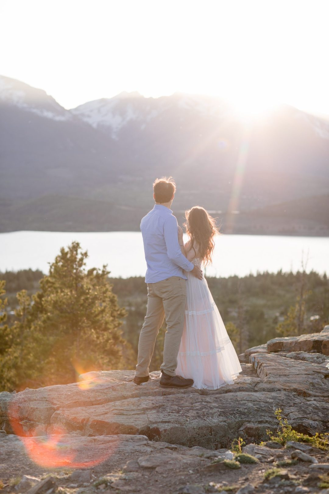 Proposal overlooking Dillon Reservoir