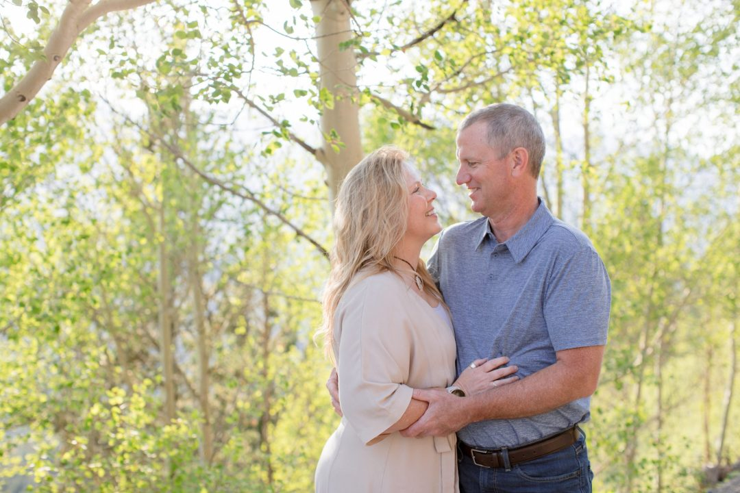 couples portraits during professional portrait session with Andrea Stark Photography