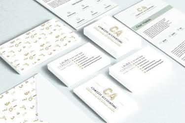 Stationary   Comuzzi Accounting   Designed By Andrea Studios
