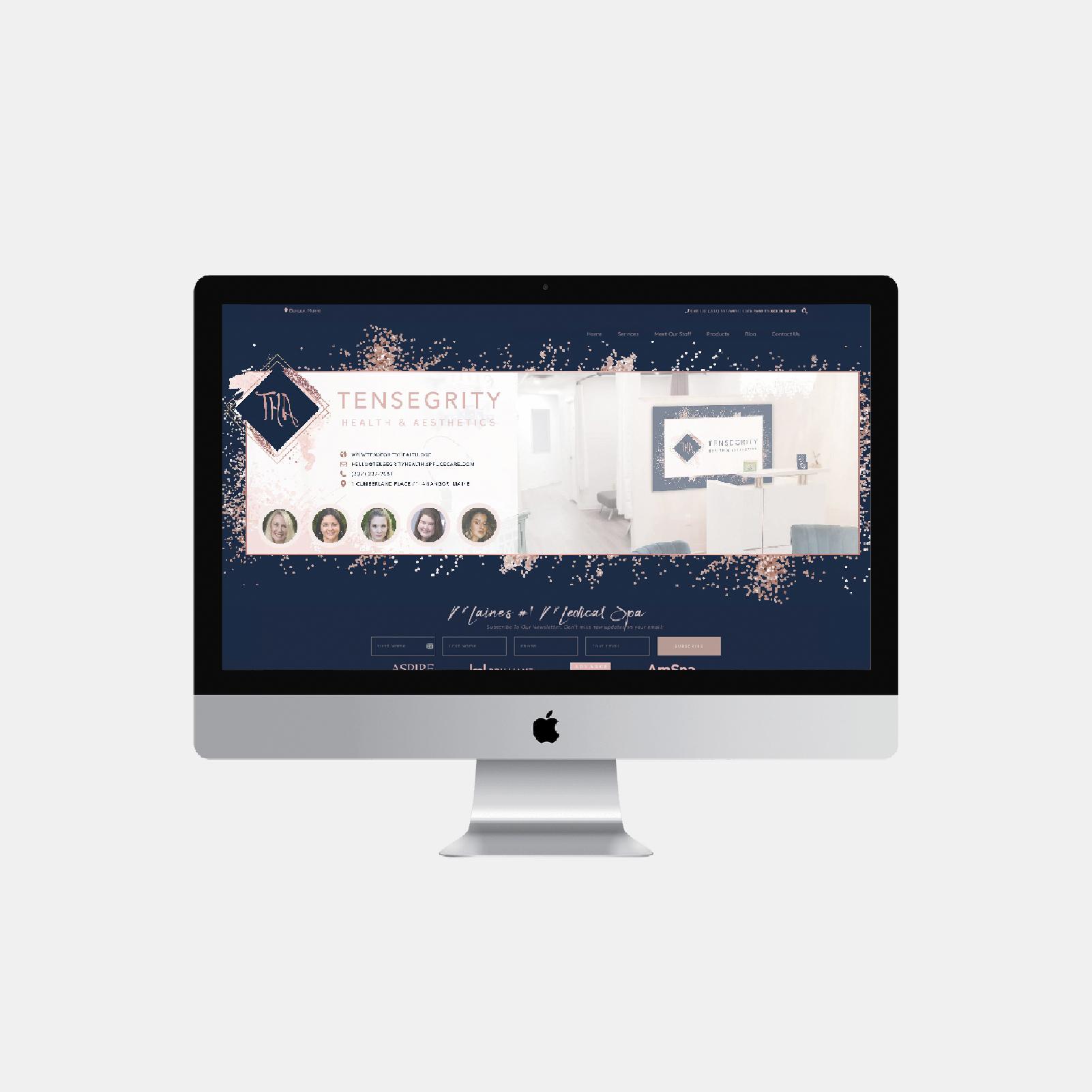 Tensegrity Health & Aesthetics   Web Design and Development By Andrea Studios