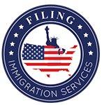 Filing Immigration Services By Saidou logo designed by Andrea Studios