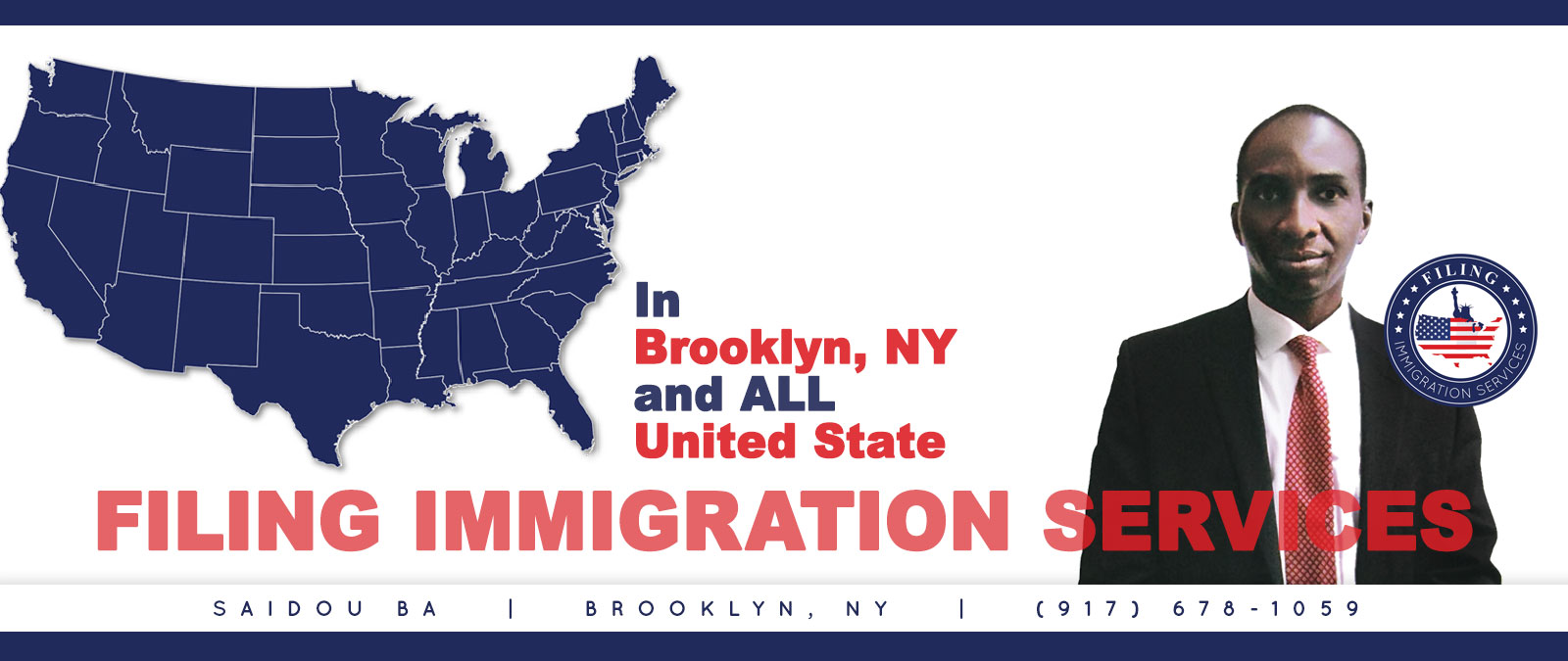 Filing Immigration Services By Saidou Web Design and Development by Andrea Studios