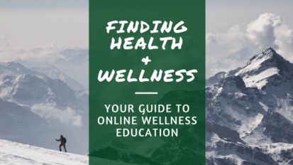 Finding Health & Wellness badge