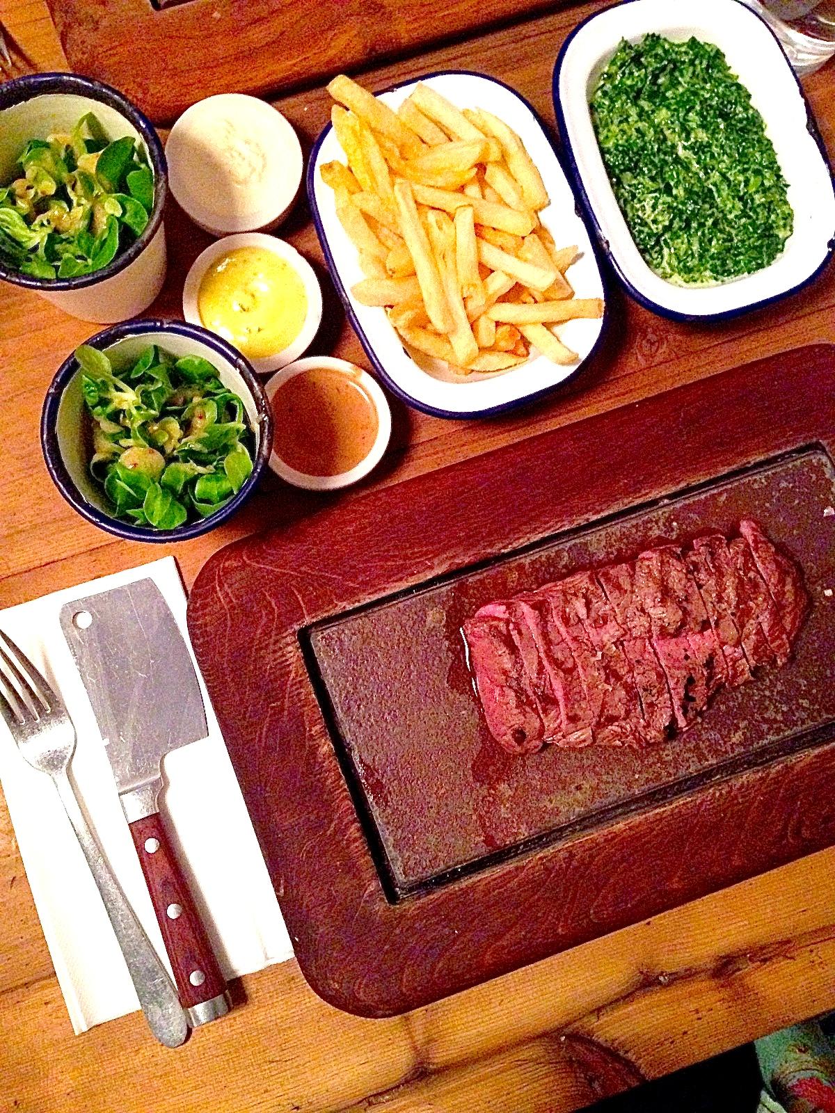 Flat Iron Steak 美味牛排店   安錐亞啾愛倫敦 London Heart