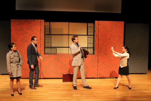 "As ""Hotel Manager"" in Black Lab Theatre's production of ""Chinglish"" by David Henry Hwang at Asia Society Texas Center in Houston, TX."