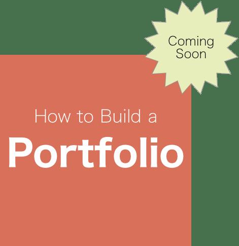 how to build a portfolio site