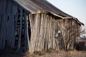 Vielle grange - Vue du coté