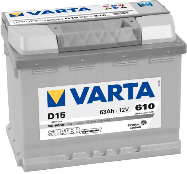 La E-acumulator se comandă baterii auto Varta