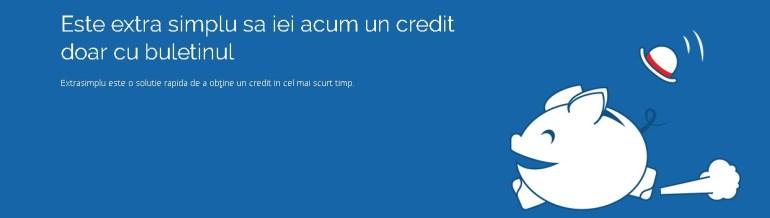 Se poate face credit cu buletinul în pași extra simplii