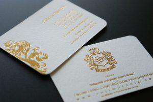Materialul din care este confectionata cartea de vizita, secretul unei carti de vizita eficiente