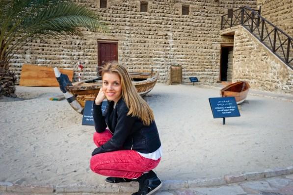 Andreea Ibacka Dubai Museum