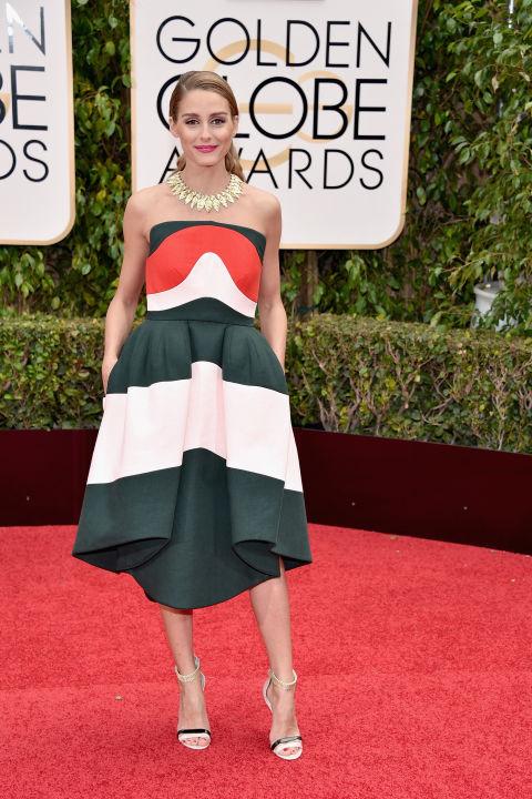 Olivia Palermo Golden Globes 2016