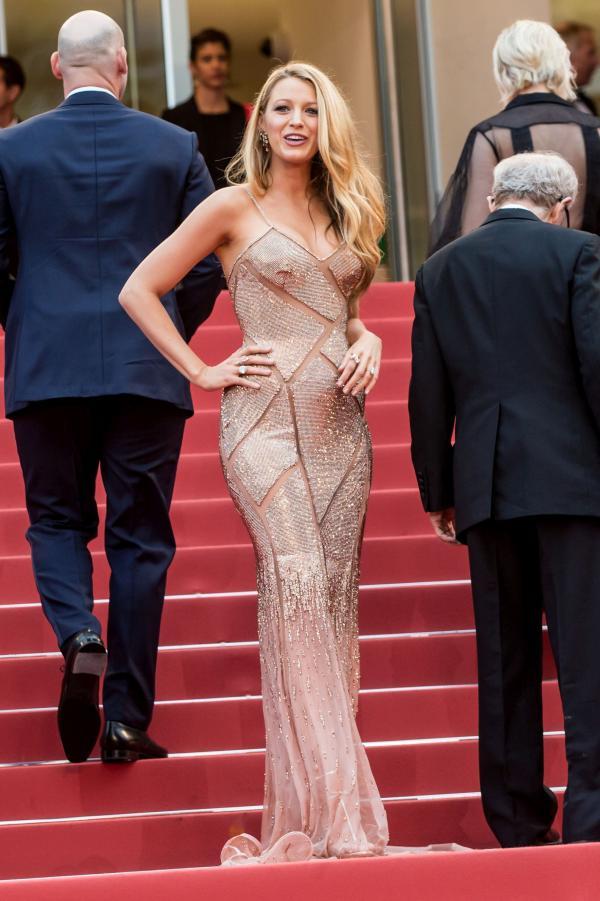 BLAKE LIVELY, intr-o creatie Atelier Versace