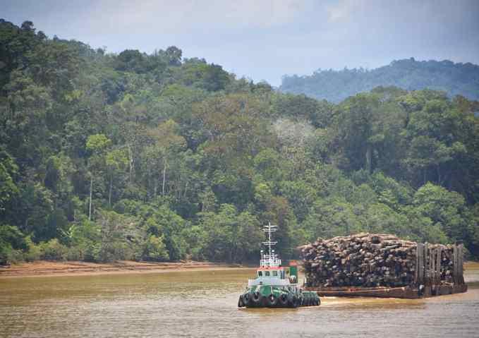 Kapit, Rajang River, Sarawak, Malaysia, Borneo