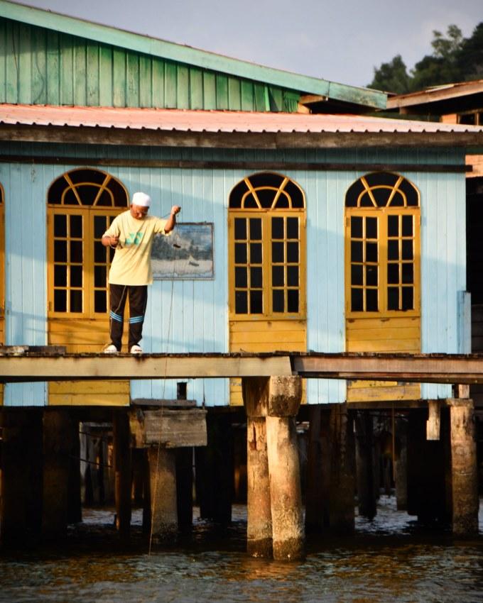 Kampong Ayer, Bandar Seri Begawan, Brunei, Borneo