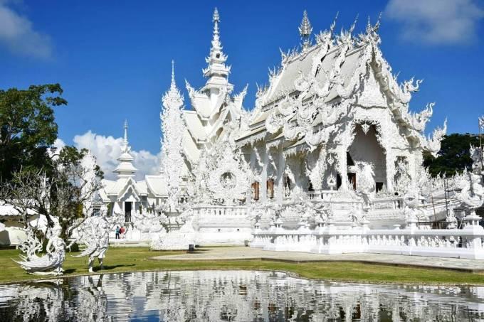 White Temple, Chiang Rai, Thailand, travel