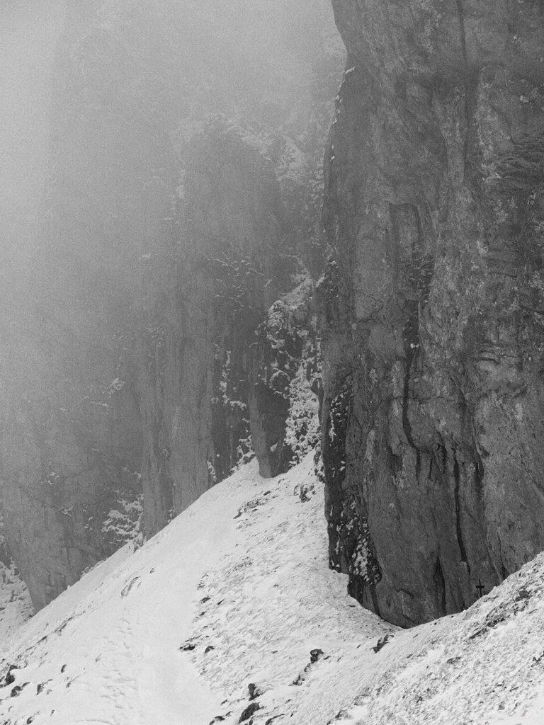 37 - Iarna în Bucegi, la Strunga