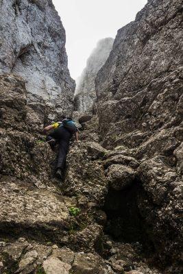 Tainele Bucegilor: Nordwand de Morar