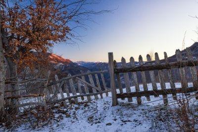 Anul Nou la Ineleț. Munții Cernei