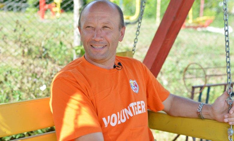 """Photo of Victor Zamă: """"Am ales să fac o Asociație și un Centru Comunitar în satul natal, pentru că am simțit o chemare""""."""