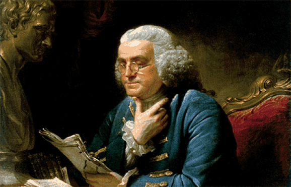Benjamin-Franklin-morning-routine