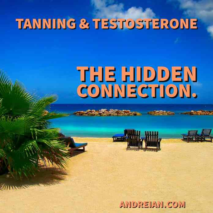 tanning and testosterone