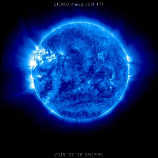 A blue Sun