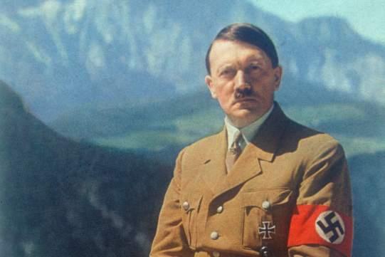 Adolf Hitler (1889-1945), German statesman,