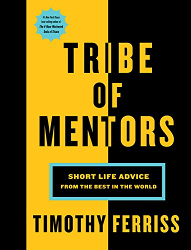 tribe of mentors timothy ferriss best books 2017