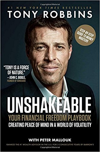 unshakeable your financial freedom to success tony robbins best books 2017