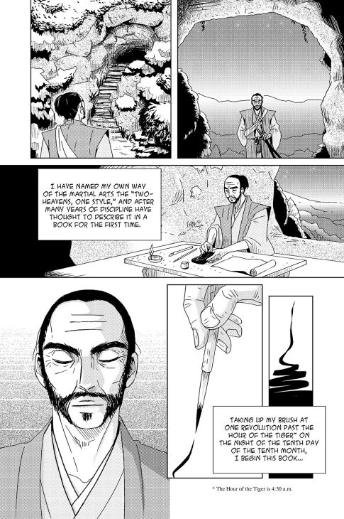 musashi graphic novel frame 3