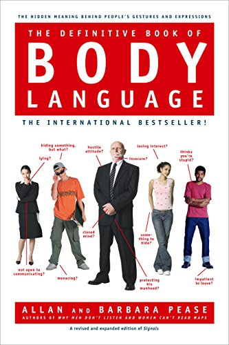 best body language books - the definitive book on body language