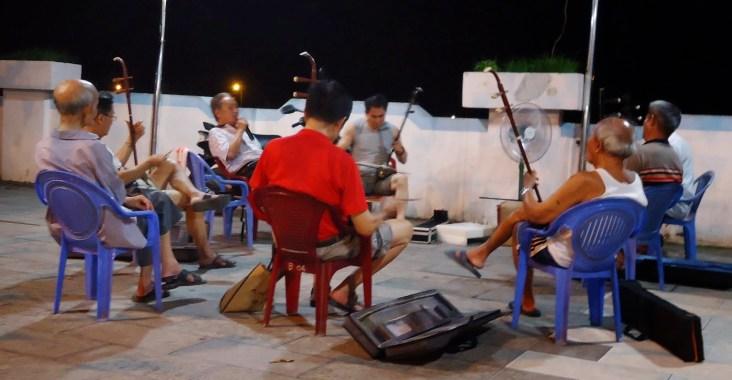 hekou musicisti in strada