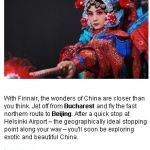 <b>Finnair's great Asia adventure</b>