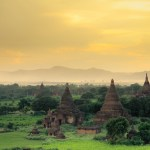 <b>sunset at Bagan</b>